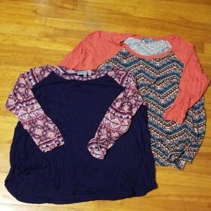2 cute and comfortable tops